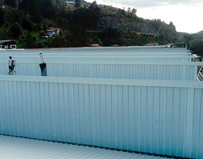 Reforma de techos y fachada de Elkartegui